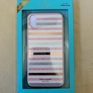 NWT Kate Spade iPhone Xs MAX COMOLD CASE